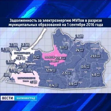 Калининградская область на 38 месте в рейтинге регионов по доле расходов ЖКХ услуг