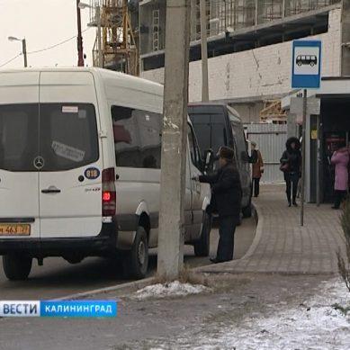 В Калининграде обустроят три новых остановочных пункта