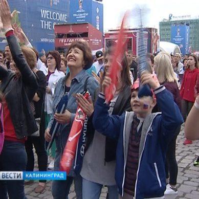 На фан-зоне у Дома советов состоится трансляция матча сборных России и Египта