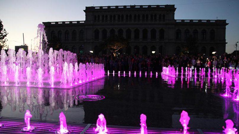 Калининградский филиал компании «Ростелеком» обеспечил WI-FI новый сквер с «поющим» фонтаном