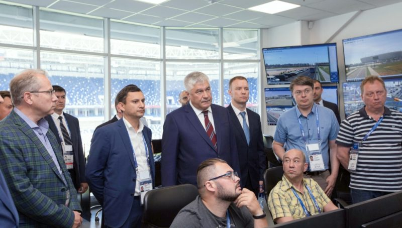 Министр внутренних дел РФ посетил Калининград