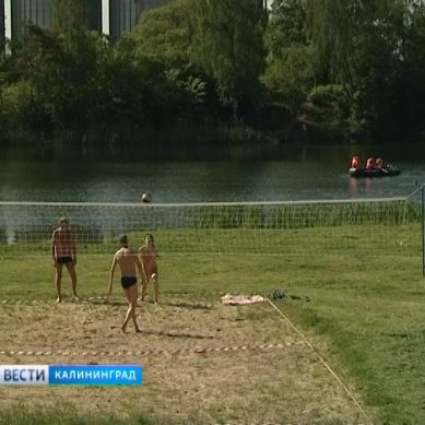 В Калининграде запретили купаться на озере Карповском