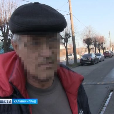 По дороге Калининграда разгуливал мужчина в тапочках и «под градусом»