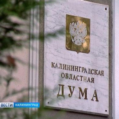 Областные депутаты обсудили введение новых льгот в Калининградской области