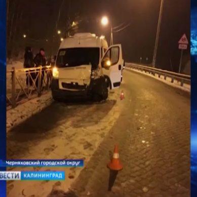 В Черняховском районе автобус с детьми попал в ДТП