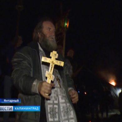 В ночь на 19 января в Калининградской области прошли торжественные богослужения и купания