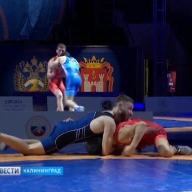 Сегодня в Калининграде разыграют первые комплекты медалей чемпионата России по греко-римской борьбе.