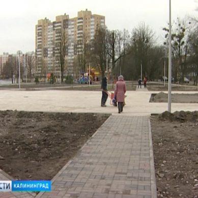 На Летнем озере продолжается реконструкция набережной