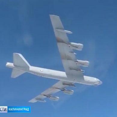 Российские Су-27 вынудили бомбардировщик США удалиться от российской границы