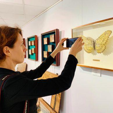 В Светлогорске открылась «Янтарная гостиная» и виртуальный Русский музей