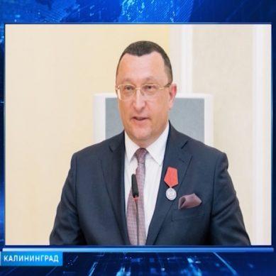 Руководитель «Храброво» Александр Корытный получил государственную награду РФ