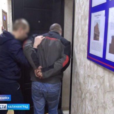 В Гвардейске полицейские задержали подозреваемых в краже медного телефонного кабеля
