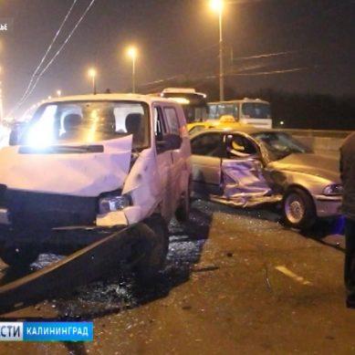 В Калининградской области возросло число ДТП с участием начинающих водителей