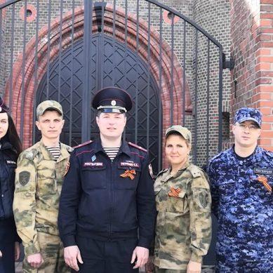 В СЗФО Росгвардии стартовала патриотическая акция «Георгиевская лента. Эстафета памяти»
