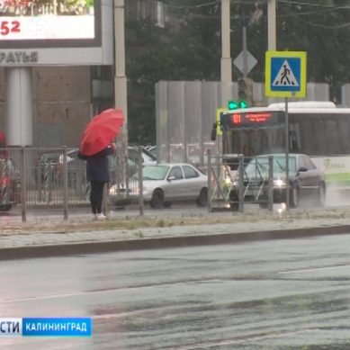 В Калининграде ожидается усиление западного ветра