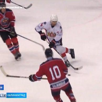 Калининградская хоккейная команда вышла в финал Ночной лиги в Сочи