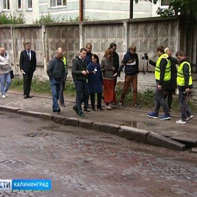 Активисты ОНФ проверяют состояние дорог Калининградской области