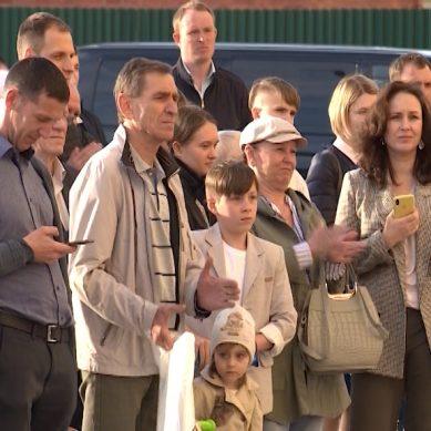 В Калининграде обманутым дольщикам вручили ключи от квартир