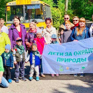 В Калининграде состоялась акция «Зелёные лёгкие планеты»